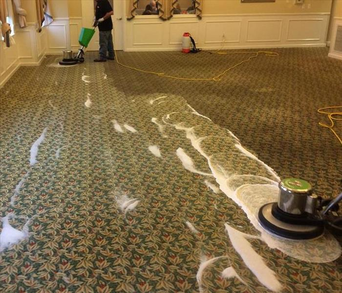 Carpet Cleaning at Waltonwood Senior Living Community